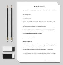 dream home design questionnaire planning kit questionnaire for your clients wedding wedding arms