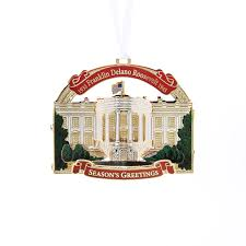 2015 white house u0026 historical ornament honoring president franklin