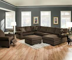 Leather Sofa Decorating Ideas Stupendous Brown Sectional Living Room Dark Brown Modern Leather