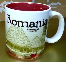 amazon com starbucks global city mug romania brand new 2013