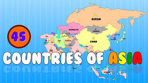 Map Of Nepal In Asia by Countries Of Asia Learn The Countries Of The World Elearnin