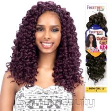 braids crochet freetress synthetic hair crochet braids gogo curl 12 samsbeauty