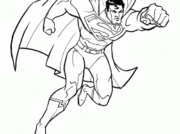 superman coloring pages super heroes printable coloring pages