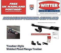 genuine witter ty119a fixed towbar for toyota yaris 1999 2006