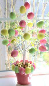 Easter Egg Outdoor Decorations easter egg tree plant solidaria garden
