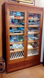 merchandise display case handmade large retail humidor display cabinet by humidor works