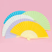 fan favors paper fan wedding fans paper gift wedding fan favors