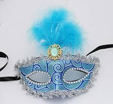 blue masquerade masks megashopping party eye navy blue mask costume