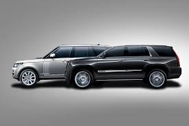 2015 cadillac escalade vs 2014 range rover digital trends