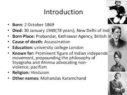 biography of mahatma gandhi summary mahatma gandhi childhood information term paper academic writing