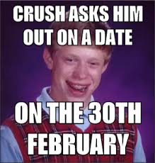 Brian Meme - has a fight shits bad luck brian mad about memes