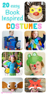 easy book inspired costumes kids craft room