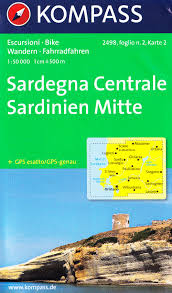 Sardinia Map Central Sardinia Map