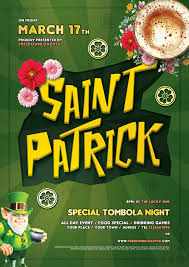 3 saint patricks day free flyer psd freedownloadpsd com