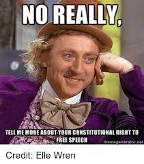 Elle Meme - 25 best memes about free speech meme free speech memes