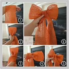 best 25 burlap bow tutorial ideas on wreath bows diy