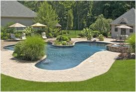 backyards cool pool backyard backyard pool and spa reviews