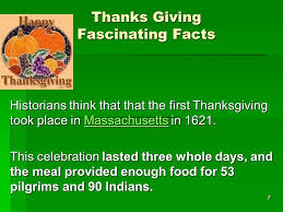 1 why do we celebrate thanksgiving today on the advent of