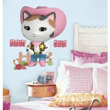 sheriff callie s wild west peel and stick giant wall decals sheriff callie s wild west peel and stick giant wall decals walmart com