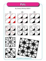 zentangle pattern trio 698 best tangle tutorials images on pinterest doodles zentangles