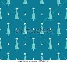 black white simple seamless christmas pattern stock vector