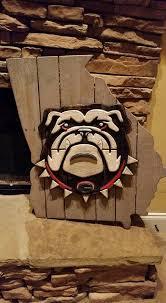 Georgia Bulldog Rugs Georgia Bulldogs Logo Neon Sign Myneonhaven Com Neon Signs