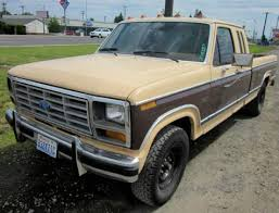 ford truck 1982 1982 ford f 250 supercab 2wd truck 1000 in washington