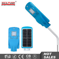 10w ip65 waterproof outdoor all in one led solar light