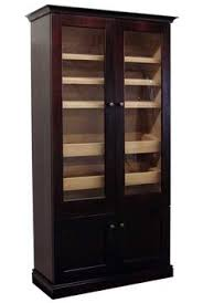 cigar humidor display cabinet the redford electronic cabinet cigar humidor humidordeal com