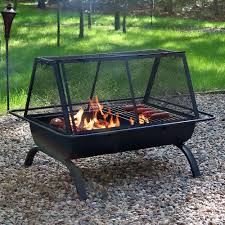 36 Fire Pit by Sunnydaze Northland Grill Fire Pit U0026 Protective Cover