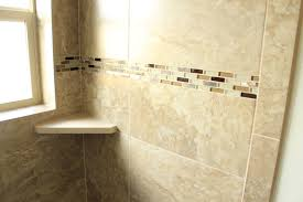 flooring bathroom ideas with cream emser tile wall and white