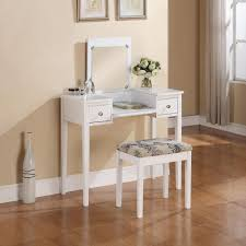 Linon Home Decor Vanity Set With Butterfly Bench Black Linon Home Decor Black Bedroom Vanity Table With Butterfly Bench