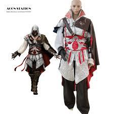 Assassins Creed Kid Halloween Costume Popular Costume Ezio Auditore Buy Cheap Costume Ezio Auditore Lots