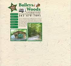 baileys woods campground u003dthis is a heavily wooded campground