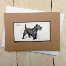 vintage greeting cards for breeds q to z