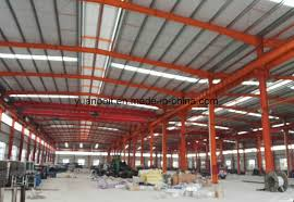 china prefabricated steel structure factory building long span