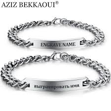 cheap personalized jewelry customize name bracelet 316 stainless steel id bracelet bangles