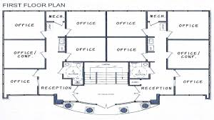 building floor plans lovely commercial office building floor plans small office