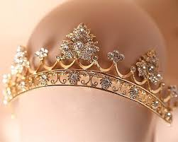 hair accessories for women baroque tiara crown rhinestone wedding headpiece bridal