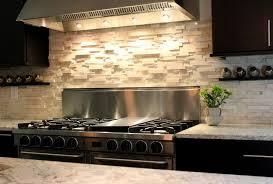 Stacked Stone Kitchen Backsplash Charming Astonishing Interior - Rough stone backsplash