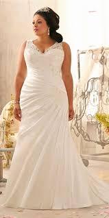 wedding dresses plus sizes v neck high waist mermaid wedding dress plus size women s