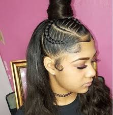 black senior hairstyles pin by 𝕭 𝖗 𝖎 on laid pinterest black girls hairstyles