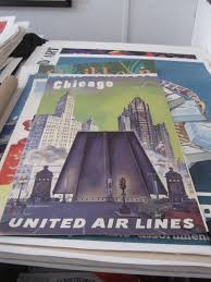United Airline Carry On by United Airlines Posters Vintage European Posters