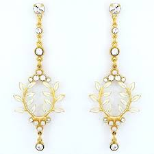 antoinette earrings wedding jewelry antoinette gold bridal earrings