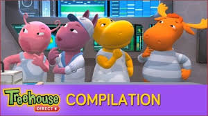 the backyardigans are on the case action elves to the rescue