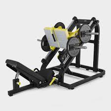 pure strength linear plate loaded leg press