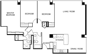 Three Bedroom Apartments In Queens by Queens Tower Everyaptmapped Cincinnati Oh Apartments