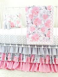 Bright Crib Bedding Captivating Grey Crib Bedding Sets Also Pink Purple In Crib