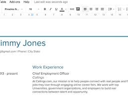 google doc template resume use google docs resume templates for a