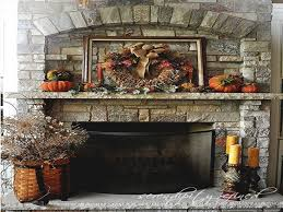 pottery barn decorations thanksgiving fireplace